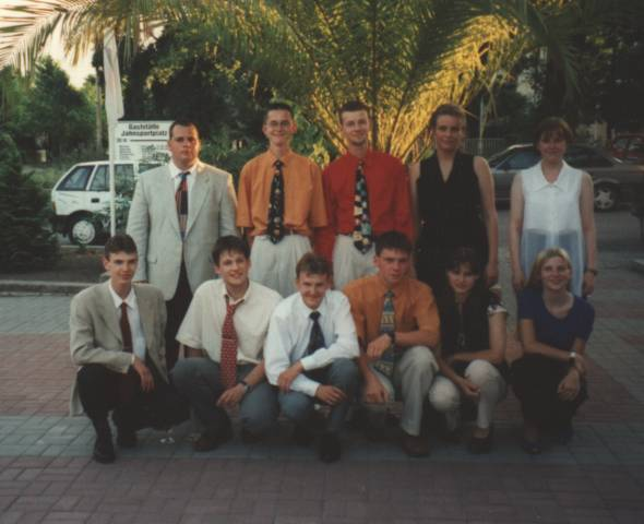 Unser letztes Klassenfoto vom 10. Juli 1997